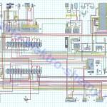 Электрическая схема газ 3302 двигатель 406