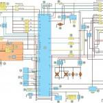 Электросхема Nissan Almera (пример)