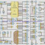 Электросхема ВАЗ-2123 - Нива Шевролет (пример)