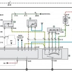 Электросхема KIA Spectra (пример)