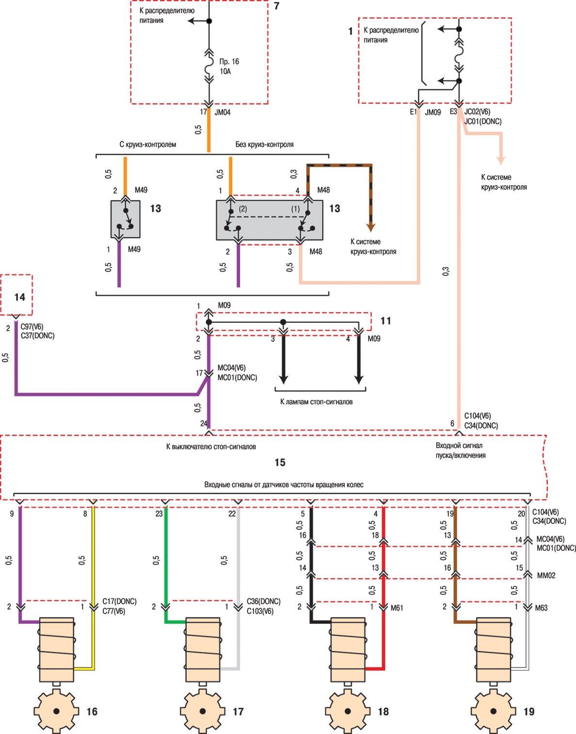 электрическая схема мерседес бенс спринтер