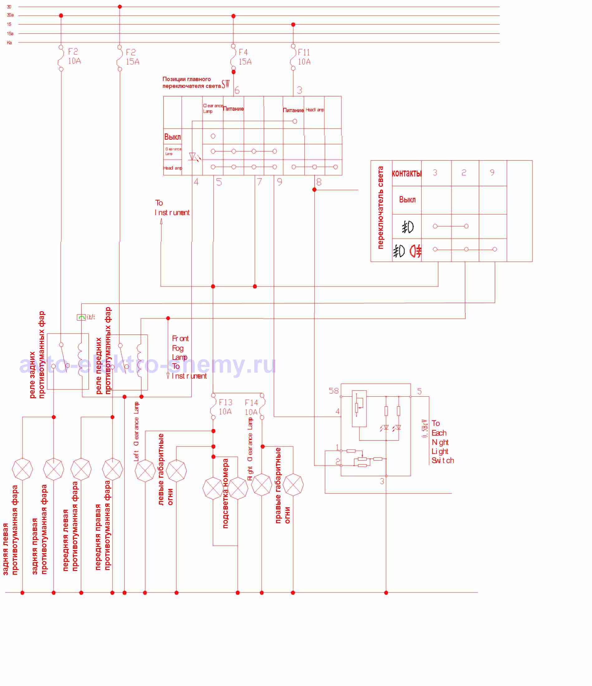 привод стеклоочистителя газ 3302 схема подключения