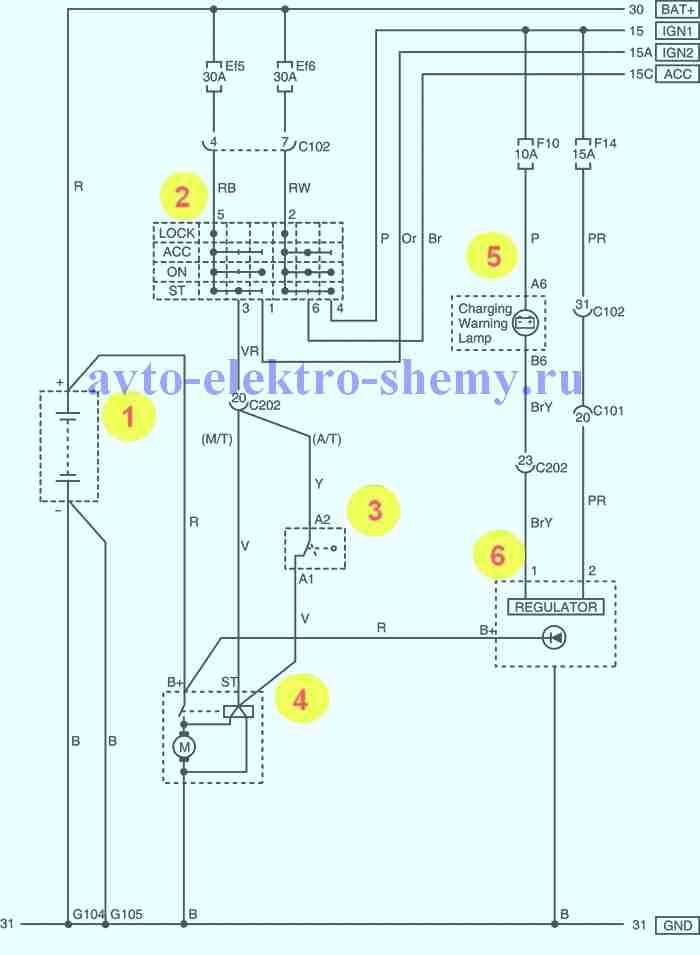 генератора на Daewoo Matiz