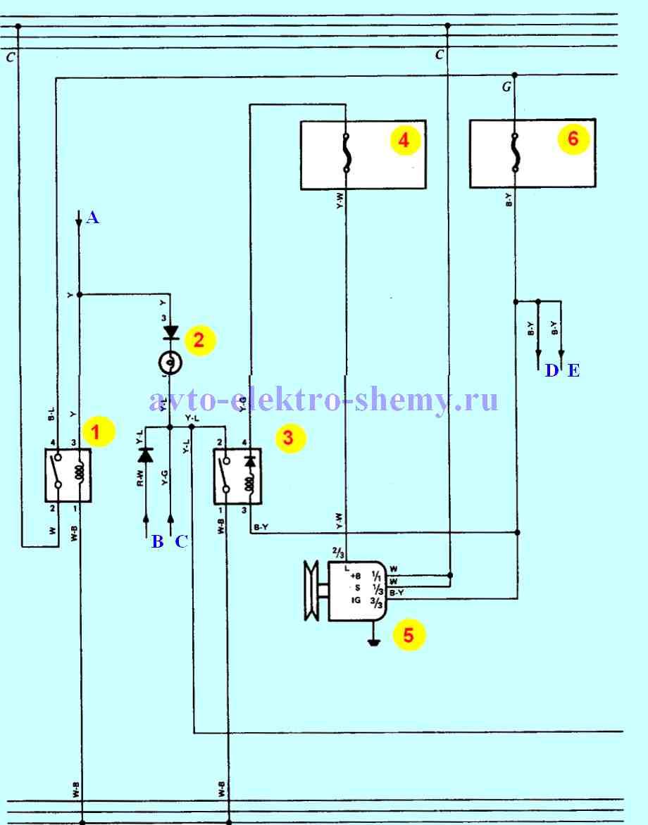 Система отопления и кондиционирования, система заряда рис.2