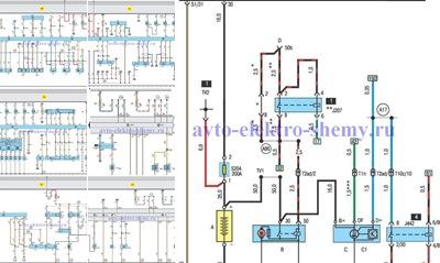 """Просмотр альбома """"Схемы электропроводки AUDI A8, продолжение с 31 по 40"""""""