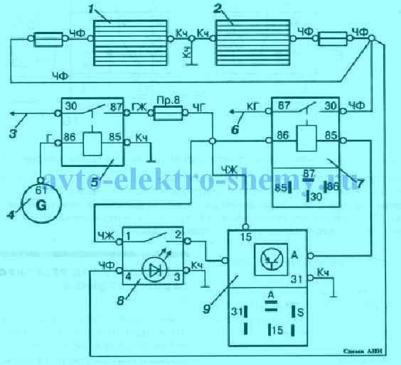 Схема озонатора на автомобилей