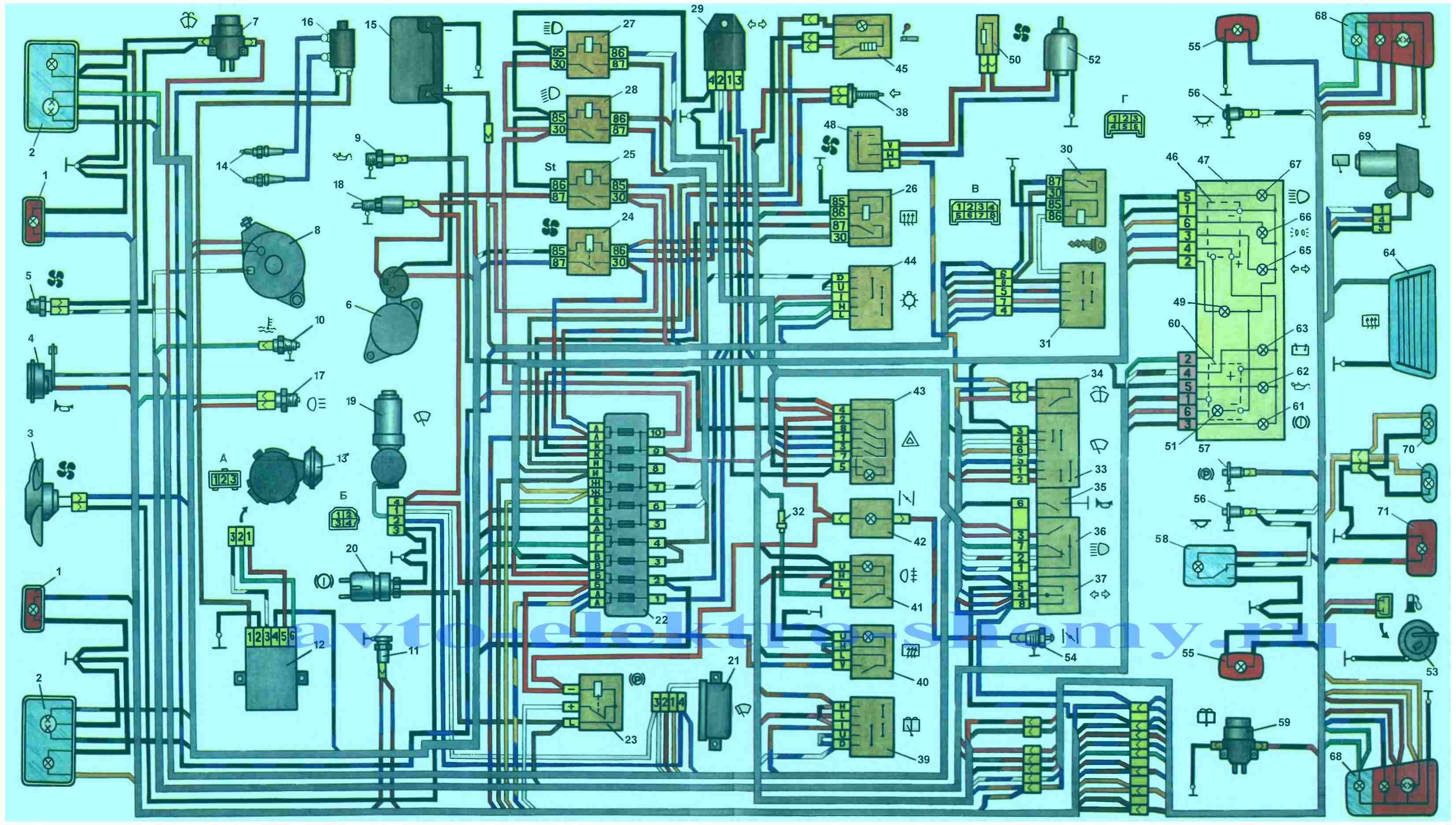 Lt b gt электрическая схема lt b gt проводки автомобиля ока lt b gt ваз lt b gt lt b gt 1111 lt b gt lt b gt.