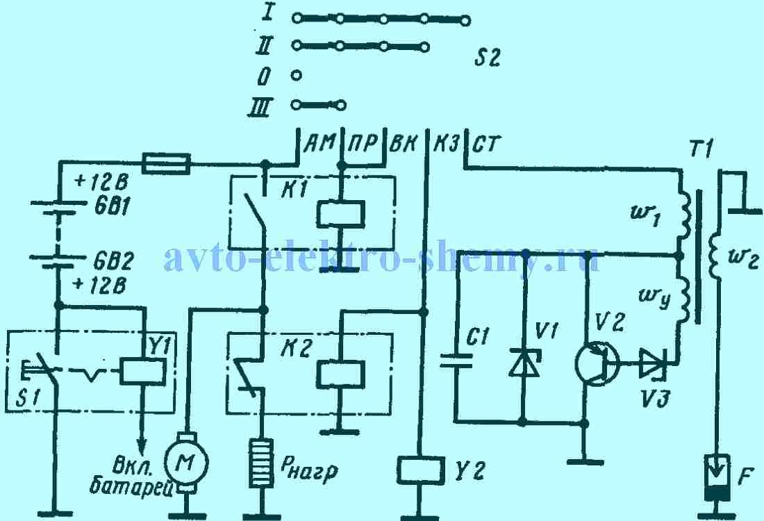 Скачать принципиальную электрическую схему электронного блока подогревателя предпускового дизельног.
